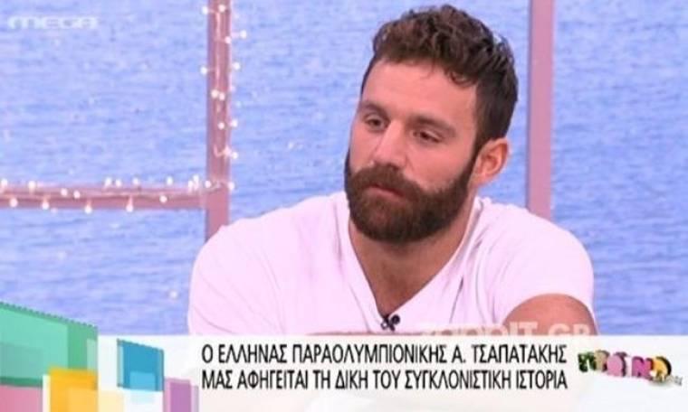 Συγκινεί ο  Παραολυμπιονίκης Αντώνης Τσαπατάκης