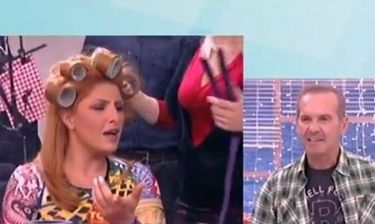 Έλενα Παπαρίζου: Με τα μπικουτί στο κεφάλι στο «Πρωινό Mou»