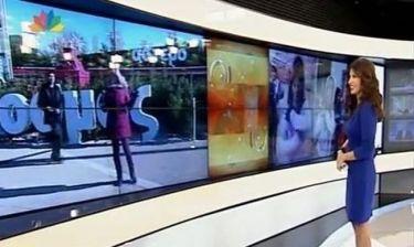 Νεαρός διέκοψε την ζωντανή σύνδεση της εκπομπής της Τσαπανίδου! Πώς αντέδρασε η δημοσιογράφος;