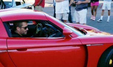Paul Walker: Οι τελευταίες φωτογραφίες του μέσα στην Porsche πριν το τραγικό δυστύχημα!