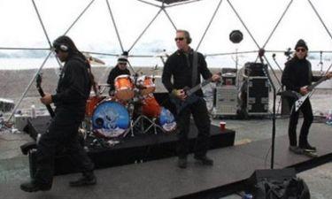 Μοναδική συναυλία των Metallica στην Ανταρκτική