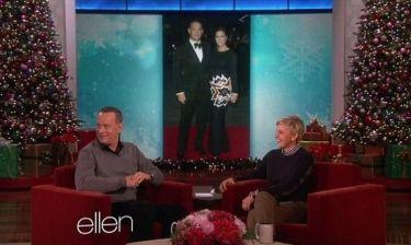 Tom Hanks: «Ο μόνος λόγος που καβγαδίζουμε με τη γυναίκα μου είναι για το ποιος αγαπά τον άλλον περισσότερο»