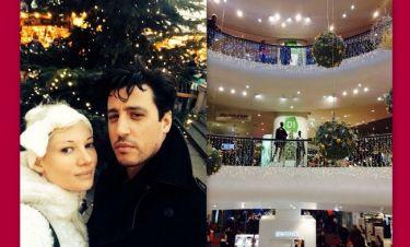 Τζούλια Αλεξανδράτου: Στιγμιότυπα από τις Χριστουγεννιάτικες αγορές της