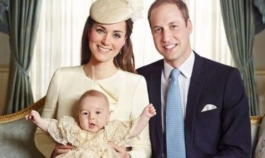 Βασιλικά τα πρώτα Χριστούγεννα για τον πρίγκιπα George!