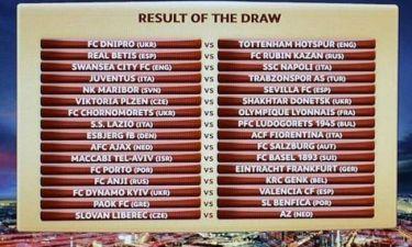 Europa League: Η Μπενφίκα στον δρόμο του ΠΑΟΚ