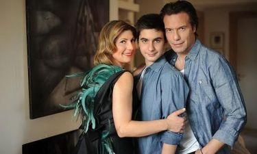Αλκιβιάδης Τζώρτζογλου: «Βαλς» με τους γονείς του στην τηλεόραση