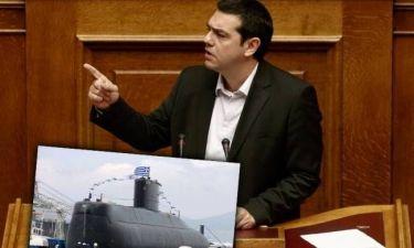 A.Τσίπρας: «Colpo grosso» η υπόθεση των υποβρυχίων