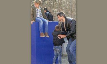 Γιώργος Σιγάλας: Όμορφες στιγμές με τα παιδιά του!