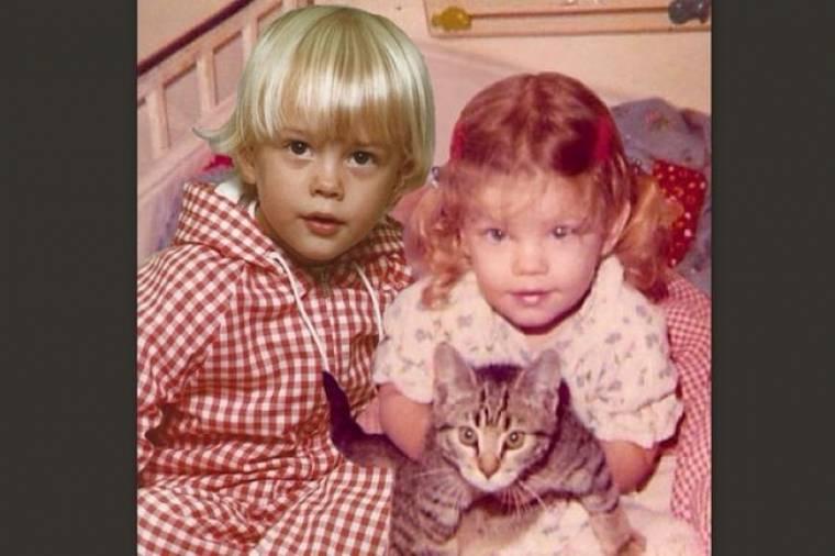 Τα παιδάκια της φωτογραφίας είναι σήμερα διάσημο ζευγάρι του Χόλιγουντ