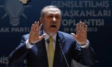 Ερντογάν: Θα κόψω τα χέρια σε όποιον υπονομεύσει την εξουσία μου