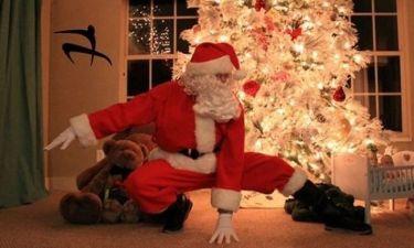 Ο Άγιος Βασίλης έρχεται κάνοντας παρκούρ! Το βίντεο που έχει «τρελάνει» το διαδίκτυο!