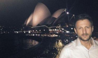 Kώστας Καραφώτης: Χριστούγεννα στην Αυστραλία! (φωτό)
