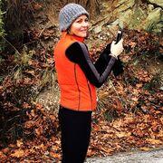Η Τζένη Μπαλατσινού κάνει jogging στο Πήλιο (φωτο)