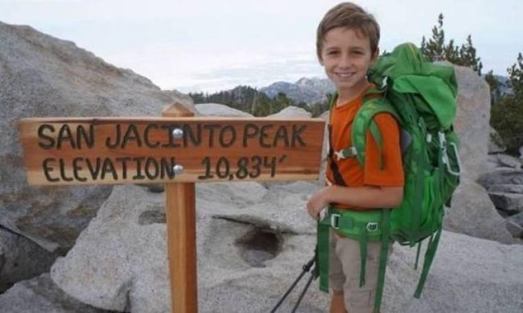 Αυτός είναι ο νεότερος ορειβάτης του κόσμου: Μόλις 9 χρονών!
