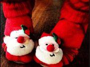 Ποια έβαλε αυτά τα χριστουγεννιάτικα καλτσάκια!