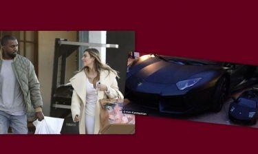 Απίστευτο! Το μωρό της Kardashian πήρε ως δώρο Χριστουγέννων μια Λαμποργκίνι!