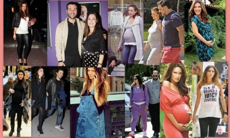 Αυτές είναι οι Ελληνίδες celebrities που έγιναν μανούλες μέσα στο 2013!