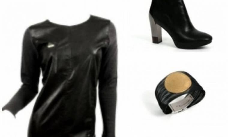 It's all about leather: Ακόμη ψάχνεις τι να φορέσεις στο ρεβεγιόν;