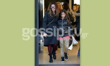 Δέσποινα Βανδή: Με την κόρη της για ψώνια