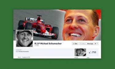 «Πέθαναν» τον Schumacher στο facebook