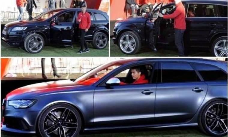 Ρεάλ Μαδρίτης: Δείξε μου το αμάξι σου... (photos)