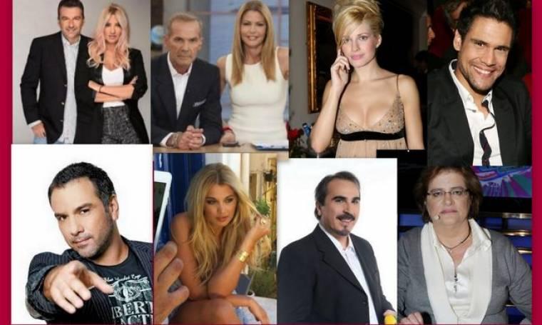 Αυτές είναι οι σημαντικότερες τηλεοπτικές κόντρες του 2013!