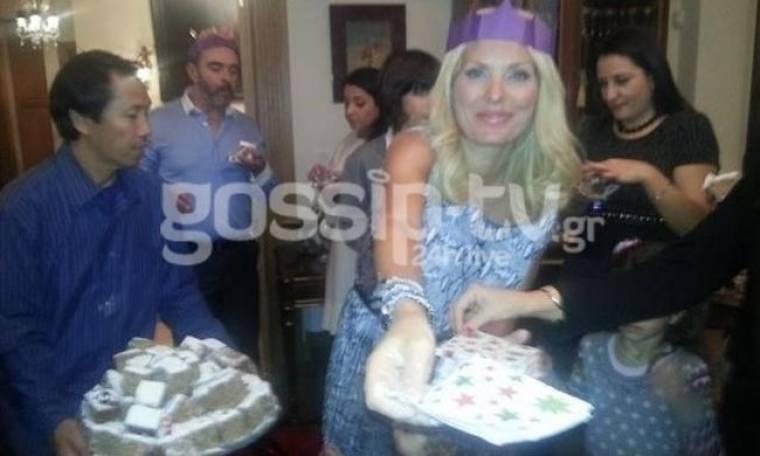 Αποκλειστικές εικόνες: Δείτε με ποιους έκανε Πρωτοχρονιά η Ελένη Μενεγάκη (Nassos blog)