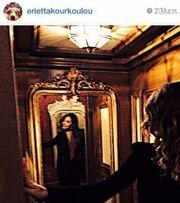 «Τρέλανε» το Γκστάαντ η Εριέττα με το φόρεμα της!