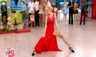 Σάσα Σταμάτη: Ο σέξι χορός της και το κατακόκκινο φόρεμα, που «προκάλεσε εγκεφαλικά»!