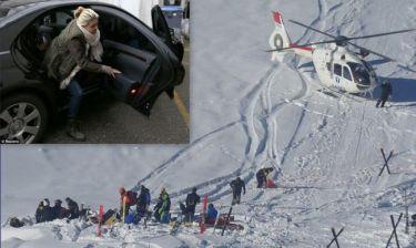 Σουμάχερ: Συγκλονιστικές εικόνες από το σημείο του ατυχήματος – Σε άθλια κατάσταση η σύζυγός του