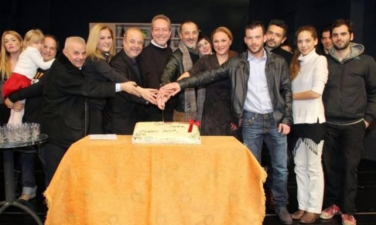 Το θέατρο «Ιλίσια» έκοψε την Πρωτοχρονιάτικη πίτα και το φλουρί κέρδισε ο…