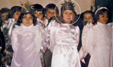 Ποια γνωστή παρουσιάστρια είναι το «αγγελάκι» της φωτογραφίας;