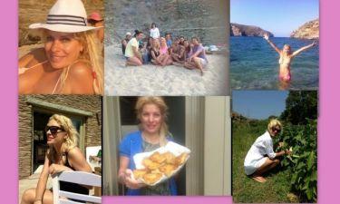 Ελένη Μενεγάκη: Δείτε με ένα κλικ όλες τις φωτογραφίες που «ανέβασε» στο instagram την χρονιά που έφυγε!