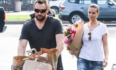 Heidi Klum: Χωρίς ίχνος μακιγιάζ έκανε τα ψώνια με τον σύντροφό της