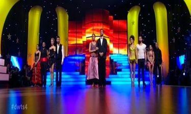 Η αποχώρηση του ενδέκατου live του «Dancing with the stars 4» και η πεντάδα του τελικού