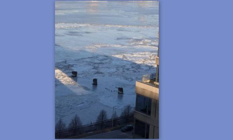 Η θέα από το σπίτι της Μαρίας Λόη στην Νέα Υόρκη με τις πολικές θερμοκρασίες (φωτό)