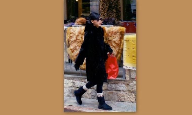 Σίσσυ Φειδά: Shopping therapy στην Αράχωβα