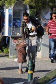 Νίνα Λοτσάρη: Στιγμές με την κόρη της