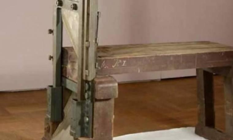 Βρέθηκε σε αποθήκη μουσείου η γκιλοτίνα των ναζί