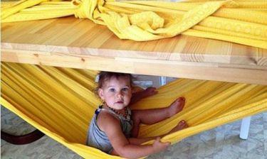 Δημιουργήστε μια εσωτερική ασφαλή αιώρα για τα παιδιά (φωτογραφίες)