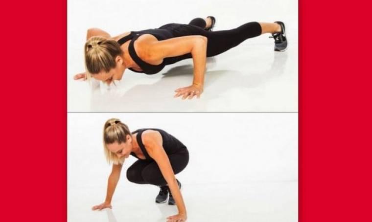 Η απόλυτη άσκηση που «καίει» το λίπος σε 1 λεπτό