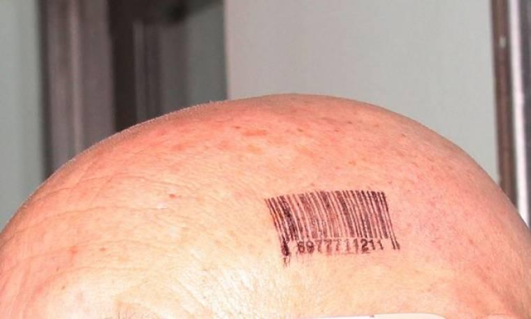 Με ένα… barcode στο κεφάλι του