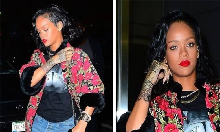 Νέο τατουάζ για την Rihanna