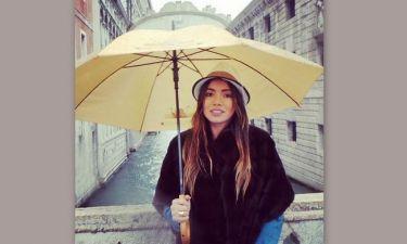 Όλγα Φαρμάκη: Συνεχίζει τις διακοπές της στην Ιταλία
