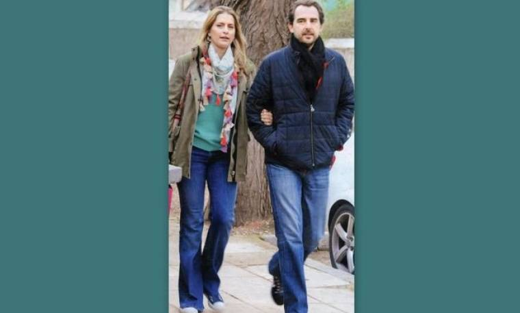 Πρίγκιπας Νικόλαος – Τατιάνα Μπλάτνικ: Βόλτα στην Κηφισιά