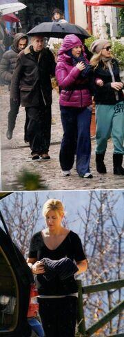 Ράνια Θρασκιά: Χαλαρές στιγμές στην Αράχοβα