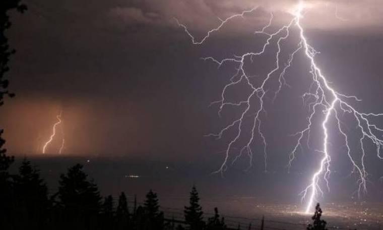 Ισχυρές βροχές σε πολλές περιοχές της χώρας