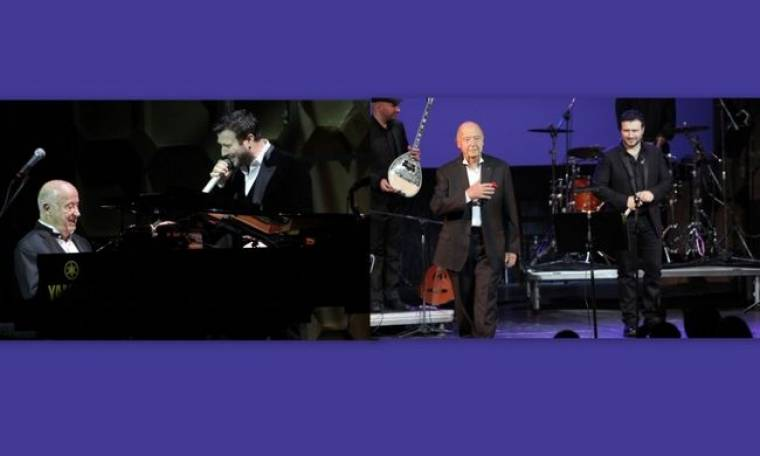 Η μουσική συνάντηση του Γιάννη Πλούταρχου με τον Μίμη Πλέσσα!