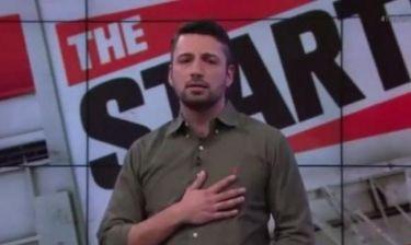 Συγκινητικό βίντεο: Ομογενής δημοσιογράφος έψαλε τον Εθνικό ύμνο