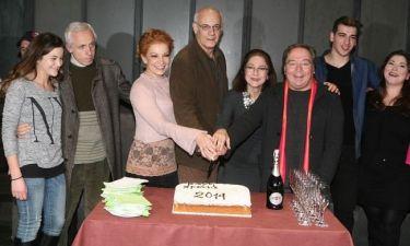 Έκοψαν την πίτα στο θέατρο «Χορν»- Ποιος κέρδισε το φλουρί;